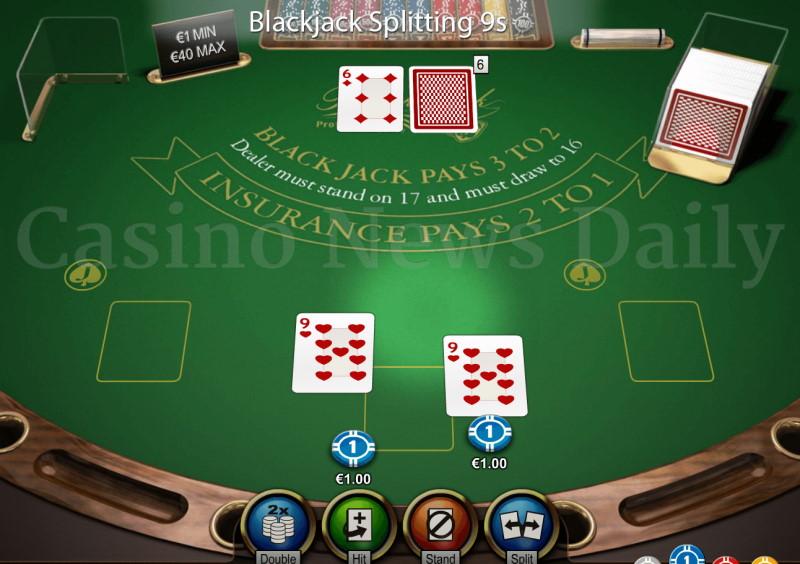 split i black jack